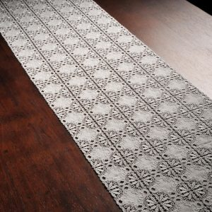Athen Embroidered Table Runner